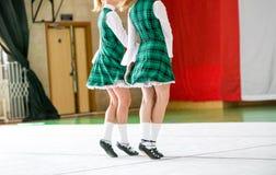 Irish dancing legs Royalty Free Stock Photography