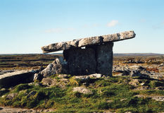 Irish dolmen Stock Photo