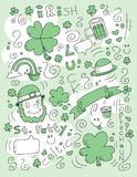Irish Doodle Stock Images