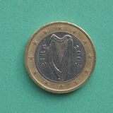 Irish Euro coin Royalty Free Stock Photography