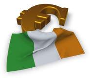 Irish euro Royalty Free Stock Images