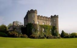 Irish castle near Dublin in spring