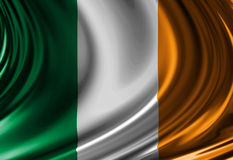 Irish flag Stock Photo