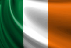 Irish flag Royalty Free Stock Photos