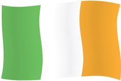 Irish flag Royalty Free Stock Images