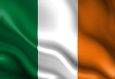 Irish flag Stock Photography