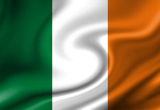 Irish flag Royalty Free Stock Photography