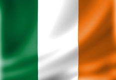 Irish flag Royalty Free Stock Photography