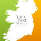 Irish flag background Stock Image