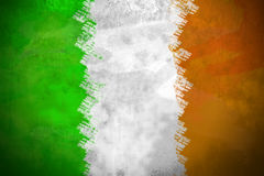 Irish Flag. Distressed Irish Flag Background - St Patrick`s Day Stock Image