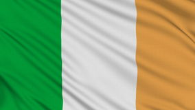 Irish flag. Royalty Free Stock Images