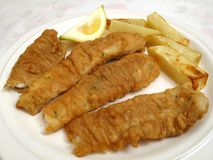 Irish Food-Fish N Chips Royalty Free Stock Images