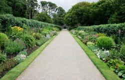 Irish garden Stock Photo