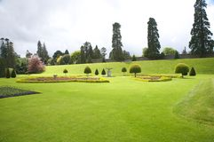 Irish garden Royalty Free Stock Image
