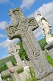 Irish gravestones Belfast Hills Royalty Free Stock Images