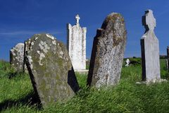 Irish graveyard Stock Photos