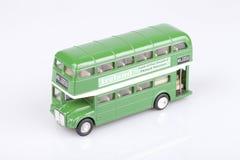 Irish green bus Stock Images
