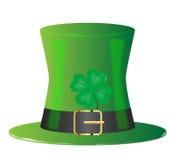 Irish Green Top Hat Stock Photography