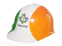 Irish hard hat Royalty Free Stock Image