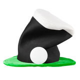 Irish hat of Saint Patrick Day Stock Images
