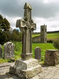Irish High Cross. Kilamery celtic high cross, Kilkenny  Ireland Stock Images
