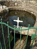 Irish Holy Well. St. Patrick's Holy Well, Clonmel, Ireland Royalty Free Stock Images