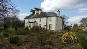 Irish house. In the countryside Royalty Free Stock Photo