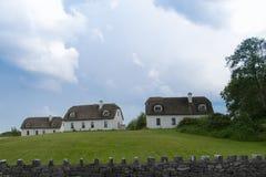 Irish houses Stock Photos