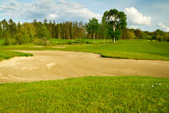Irish idyllic golf course Royalty Free Stock Photos