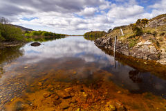 Irish lake scenery Stock Image