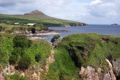 Irish landscape. At the Atlantic coast Stock Photo