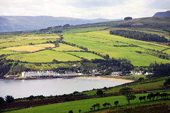 Irish landscape of Antrim Coast Royalty Free Stock Photo