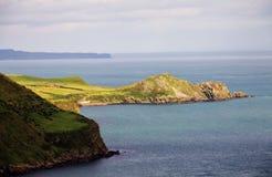 Irish landscape of Antrim Coast Royalty Free Stock Image