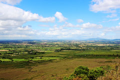 Irish landscape, beautiful sunny day. View to the Irish landscape on beautiful sunny day Royalty Free Stock Images