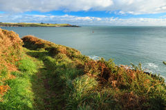 Irish landscape. coastline atlantic coast County Cork, Ireland Stock Photography