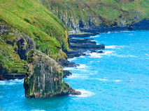 Irish landscape. coastline atlantic coast County Cork, Ireland Royalty Free Stock Photo