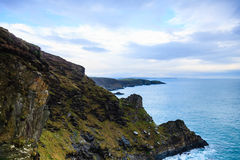 Irish landscape. coastline atlantic coast County Cork, Ireland Stock Image