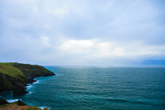 Irish landscape. coastline atlantic coast County Cork, Ireland Royalty Free Stock Image