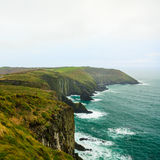Irish landscape. coastline atlantic coast County Cork, Ireland Royalty Free Stock Photography