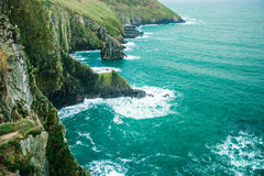 Irish landscape. coastline atlantic coast County Cork, Ireland Royalty Free Stock Image