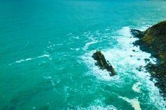 Irish landscape. Coastline atlantic ocean coast scenery. Stock Images