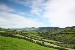 Irish landscape Dingle Peninsula. View of Dingle Peninsula near Minard Castle Royalty Free Stock Photos