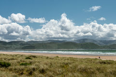 Irish Landscape - Inch Beach. Inch Beach,Kerry,Atlantic Ocean coast,ireland Stock Images