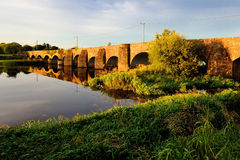 The Irish landscape, Ireland, nature, Brigde Royalty Free Stock Photos