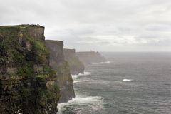 The Irish landscape, Ireland, nature, Moher Clifs Royalty Free Stock Photo