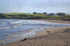Irish Landscape. Northern Ireland beach and seaside village Royalty Free Stock Photo