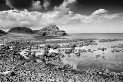 Irish landscape in northern Ireland County Antrim - United Kingdom.  royalty free stock photo