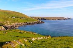 Irish landscape at sunset in Beara Royalty Free Stock Images