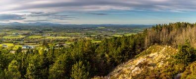 Irish Lanscape. South East Ireland at Sunset Stock Image