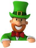 Irish leprechaun vector illustration